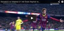 Neymar, doua goluri pentru Barcelona
