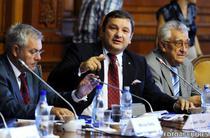 Bogdan Ciuca, presedintele Comisiei Juridice, la o conferinta pe tema lobby-ului