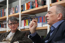 Horia Roman Patapievici si Gabriel Liiceanu