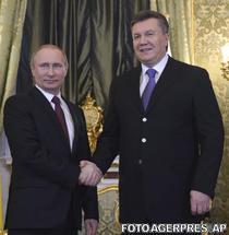 Vladimir Putin si Viktor Ianukovici