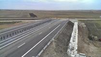 Capatul autostrazii Lugoj - Deva la Sanovita
