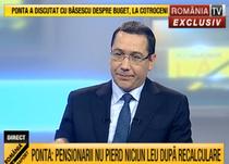 """Victor Ponta la """"Romania la raport"""""""