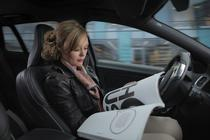 Masina autonoma de la Volvo