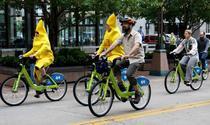 Sute de orase au fost cucerite de biciclete