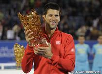 Novak Djokovic, invingator la Abu Dhabi