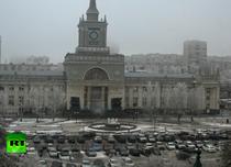 Imagini cu explozia in gara din Volgograd