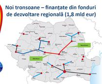 Autostrazi prin fonduri de dezvoltare regionala pana in 2018