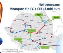 Autostrazi prin fonduri europene pana in 2018