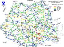 Harta traficului pe drumurile nationale