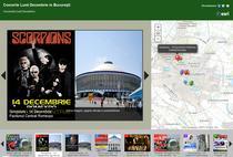 Aplicatia interactiva cu toate concertele din decembrie in Capitala