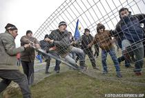In 2013, in Pungesti au avut loc proteste violente