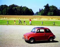 Un vechi Fiat 500