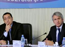 Premierul Victor Ponta alaturi de Eugen Teodorovici, cand acesta era ministrul Fondurilor UE