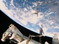 Capsula Cygnus se conecteaza la ISS