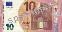 Noua bancnota de 10 euro