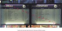 Tabela din Gara de Nord