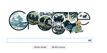 Logo Google pentru Dian Fossey