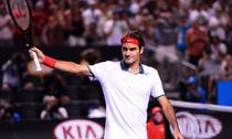 Roger Federer, perfect in meciul cu Tsonga