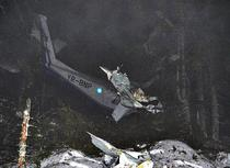 Epava avionului BN-2 YR-BNP
