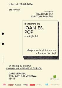 Afis intalnire Ioan Es. Pop