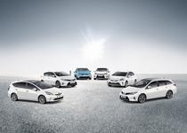 Gama de hibride a Toyota
