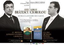 Lansare de carte: Liviu Bratescu si Adrian Cioroianu