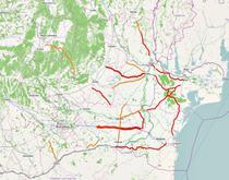 Harta drumurilor inchise din cauza zapezii - vineri, 31 ianuarie
