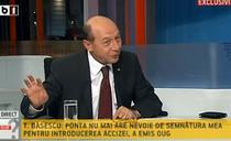 Traian Basescu la B1 TV