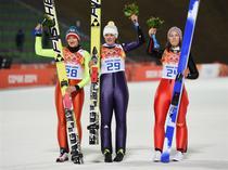 Carina Vogt, campioana olimpica la sarituri cu schiurile