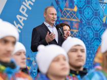 Vladimir Putin la Soci