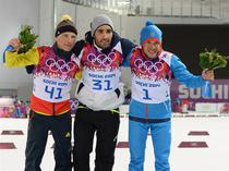 Cei trei medaliati