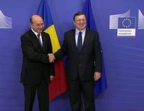 Traian Basescu si Jose Barroso la Bruxelles