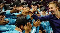 Simona Halep, dupa victoria de la Doha