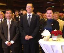 Premierul Ponta si oficiali Huawei