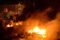 Cele mai violente proteste la Kiev - febaruarie 2014