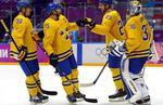 Suedia, in semifinalele turneului masculin de hochei