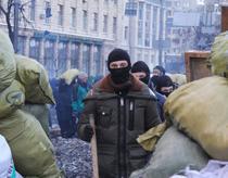 Protestatari la Kiev