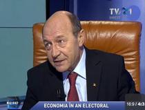 Traian Basescu la Biziday