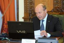 Traian Basescu la sedinta CSAT