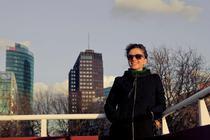 Cosmina Stratan la Berlin- foto: Oana Popa