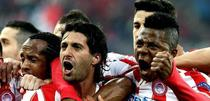 Olympiacos, victorie mare cu United