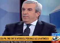 Calin Popescu Tariceanu la Antena 3