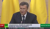 Ianukovici, in Rusia