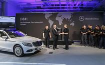 Mercedes-Benz Clasa C la uzina din Bremen