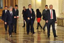 Gabriel Oprea, Victor Ponta si Liviu Dragnea