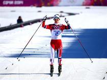 Marit Bjoergen, campioana olimpica la schiatlon