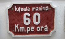Iuteala maxima 60 kmh