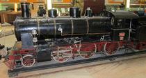Macheta locomotivei Calugareni