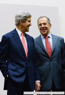 John Kerry si Serghei Lavrov
