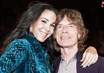 L'Wren Scott si Mick Jagger